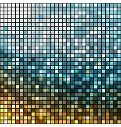 Abstract metallic disco background vector
