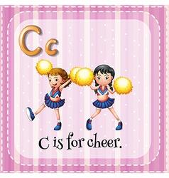 Cheer vector
