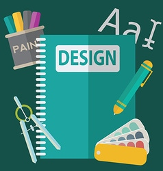 Graphic web design icons vector image