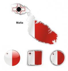 malta vector image vector image