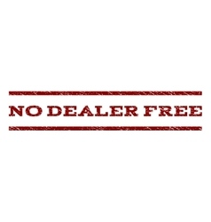 No dealer free watermark stamp vector