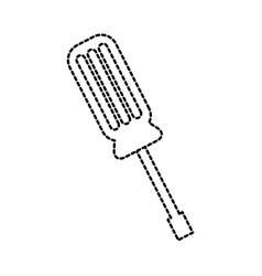 support screwdriver tool repair web concept vector image