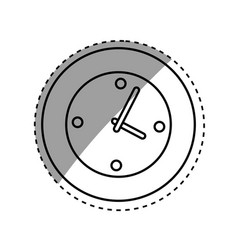 Wall watch clock vector