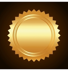 Gold background design vector