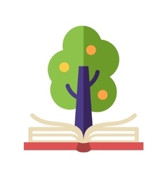 Learning and knowledge - flat design single icon vector