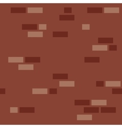 Simple brick wall pattern vector image vector image