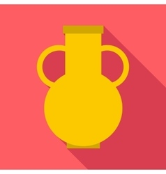 Pitcher icon flat style vector