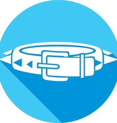 Dog Collar Icon vector image vector image