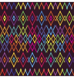 ethnic colored carpet vector image vector image
