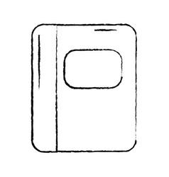 Notebook school supplies icon image vector
