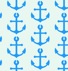 seamless wallpaper with sea anchors vector image vector image
