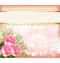 Wedding theme Background vector image vector image