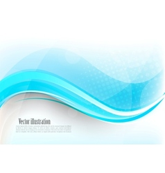 Bright blue background vector image