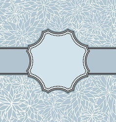 Decorative vintage frame design vector