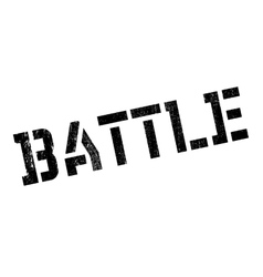 Battle rubber stamp vector image vector image
