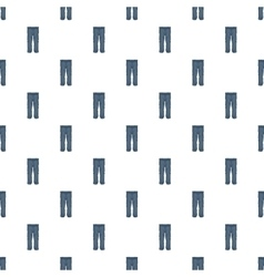 Warm pants pattern cartoon style vector