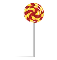 Lollipop icon vector