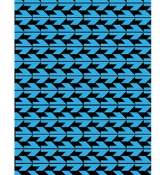 Bright abstract seamless pattern with blue arrows vector image