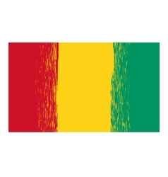 Flag of Guinea vector image vector image