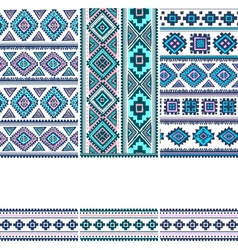 Tribal vintage ethnic banners vector image vector image