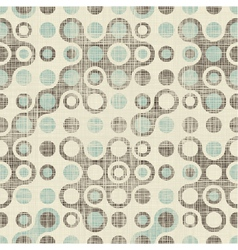 Retro spot pattern vector image