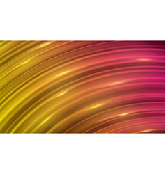 Abstract background of curved lines vector