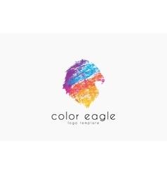 Eagle logo design bird logo color eagle america vector