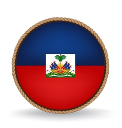 Haiti seal vector
