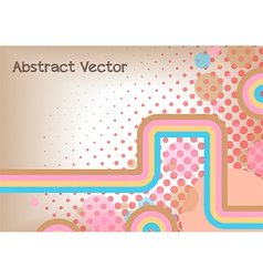 Abstract stripe background design vector
