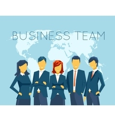 Business team human resources vector