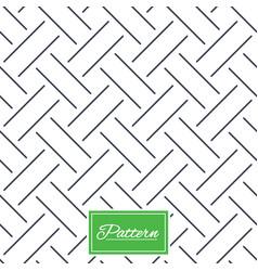 Braided stripped geometric seamless pattern vector