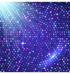 Disco light violet shining background vector