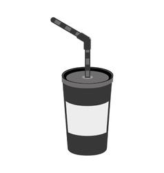 Soft soda drink vector