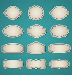 Big frames set vector