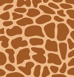 leather giraffe 3 vector image