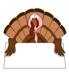 Funny turkeys vector