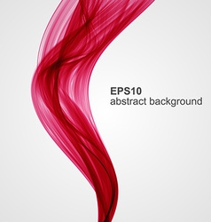Abstract colored smoke background vector