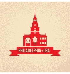 Philadelphia symbol city vector