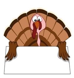 Funny turkeys vector image