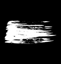ink brush stroke vector image