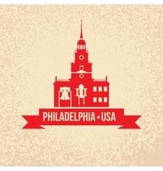 Philadelphia symbol city vector
