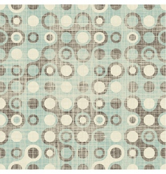 Retro spot pattern vector image vector image