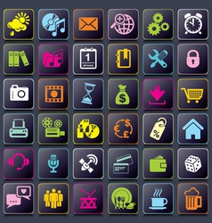Smart app icons vs vector