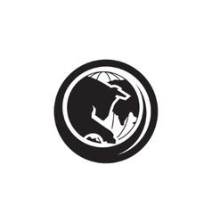 Butchery trade sign vector image vector image