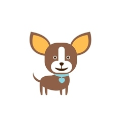 Chihuahua Dog Breed Primitive Cartoon vector image vector image