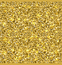 seamles gold glitter texture vector image
