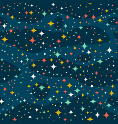 stars in the sky vector image