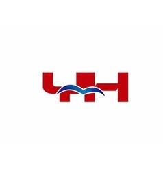 Y and h logo vector