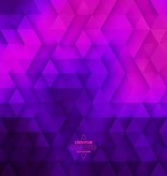 Abstract geometric technological violet and pink vector