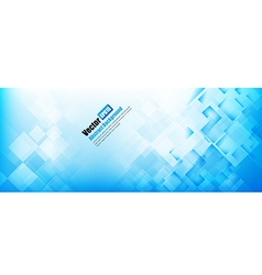 Abstract background light blue with basic geometry vector image
